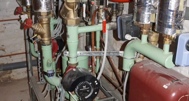 Lämmönjakohuoneen modernisointi